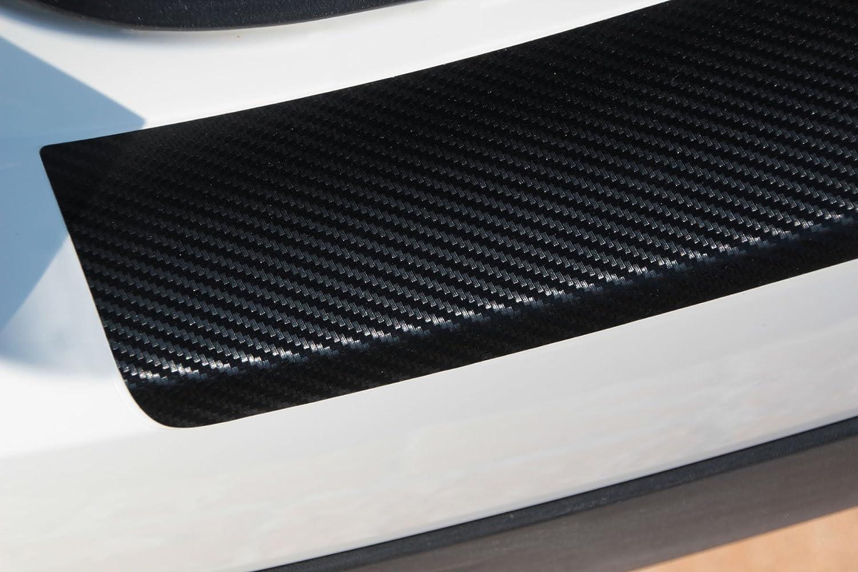 150/µm Black matt mit Leichter Struktur Lackschutzfolie Lackschutzshop Ladekantenschutz Schutzfolie in schwarz matt passend f/ür Fahrzeug Modell Siehe Beschreibung