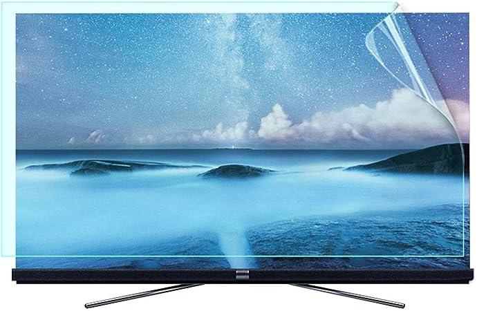 Televisor LCD De 50-58 Pulgadas Protector De Pantalla Antirreflejo/Anti Luz Azul/Película Antiarañazos, Alivia La Tensión Ocular, Superficie Mate, para HDTV LCD, LED, OLED,50Inch: Amazon.es: Hogar
