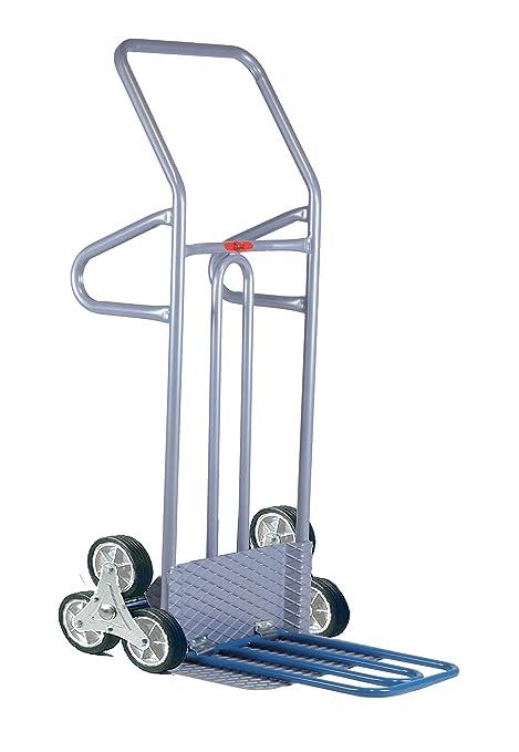 1/pezzi 1300/X 590/mm portata 200/kg Blu Fetra Carrello Professionale per scale di tubi di acciaio Pala 2/ruote lufbereifung con 2/ruota a cinque bracci stelle tk1327