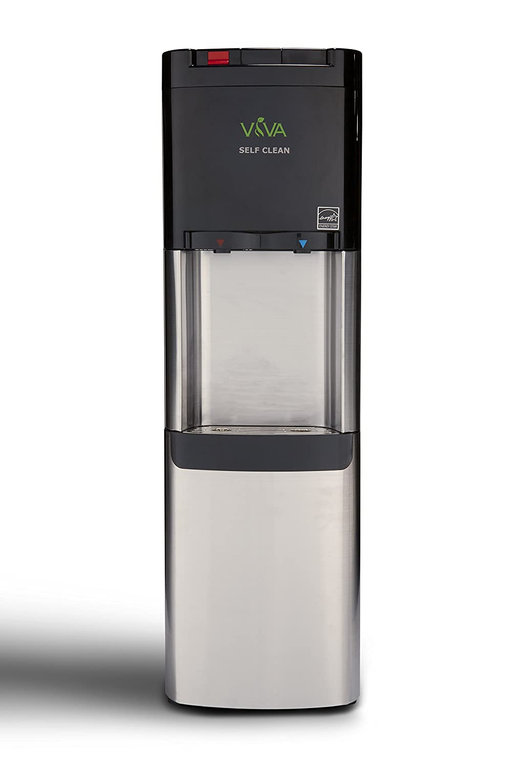 Viva Self Clean Stainless Steel Water Cooler with Hot & Cold by Viva ...