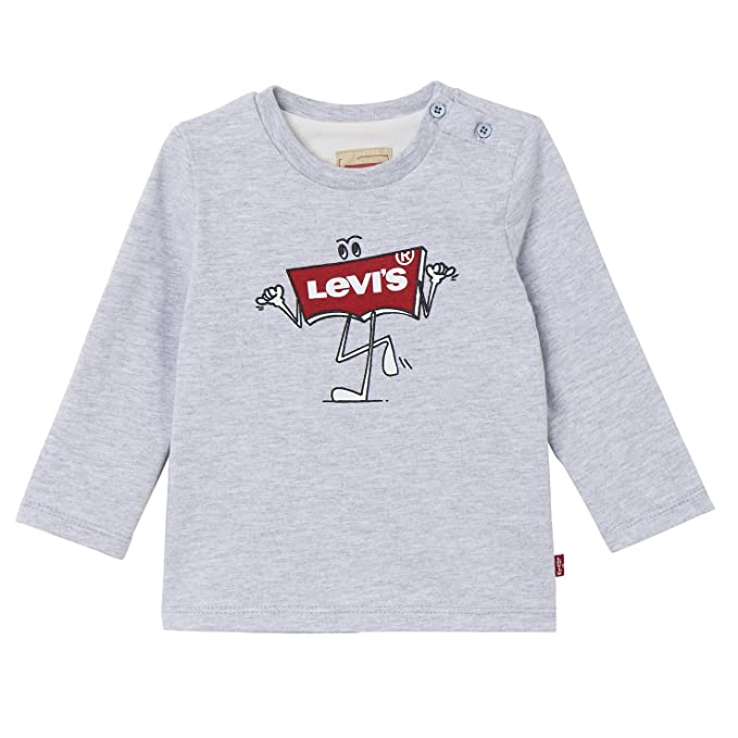 c294345df6 Levi s kids LS tee Bat