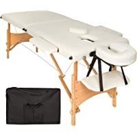 TecTake Camilla de masaje mesa de masaje banco