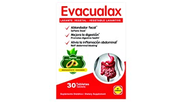 Amazon.com: EVACUALAX -LAXANTE Vegetal 100% Natural-: Health ...