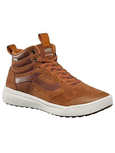 e646c3da344c43 Vans Men s Ultrarange Hi MTE Skate Shoe Boot Glazed Ginger 8  Buy Online at  Low Prices in India - Amazon.in