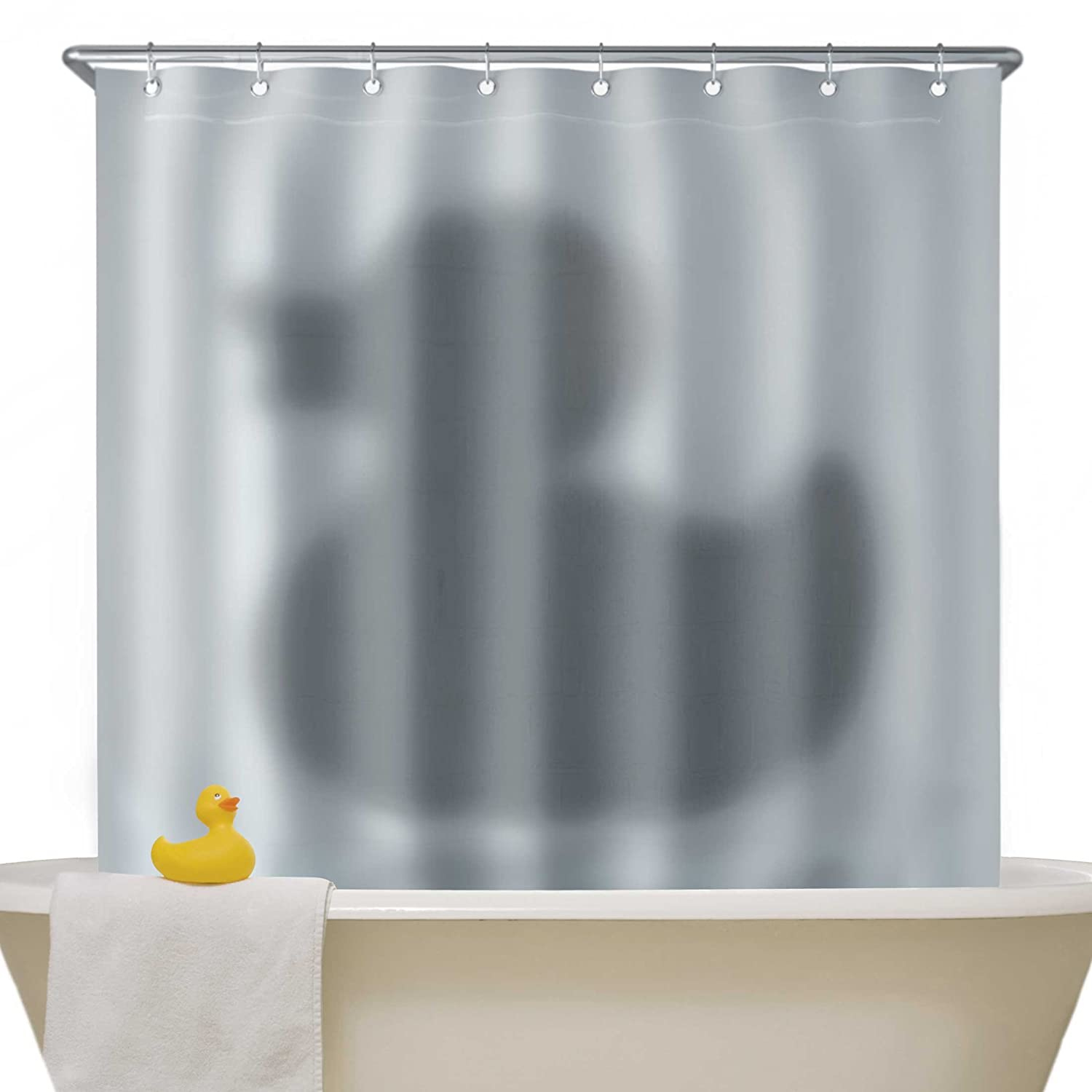 Amazon.com: Mustard NG5309 Shower Curtain, Shadow of The Duck ...