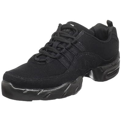 1a715e26a Bloch Women's Canvas Boost Dance Sneaker S0528L, Black, 4 M(Medium) US