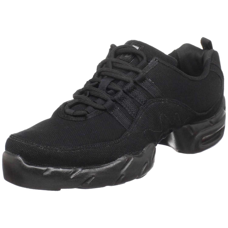 Bloch Dance Women's Canvas Boost Split Sole Dance Sneaker B0041IXKKO 12 X(Medium) US|Black