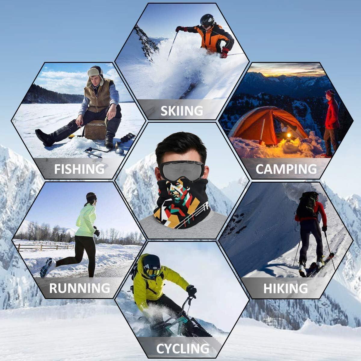 Leonard Cohen Bonnet de ski en polaire unisexe multifonction
