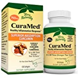 Terry Naturally CuraMed 750 mg (2 Pack) - 120 Softgels - Superior Absorption BCM-95 Curcumin Supplement, Promotes…
