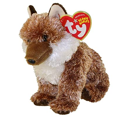 TY Beanie Baby - PUNGO the Red Wolf (Internet Exclusive): Toys & Games