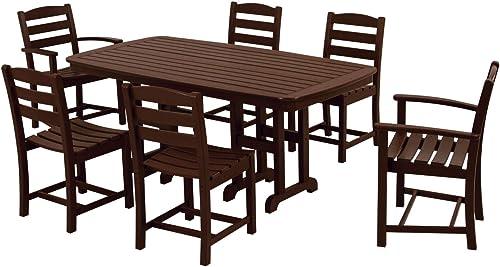 POLYWOOD PWS131-1-MA La Casa Caf 7-Piece Dining Set