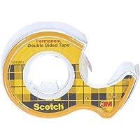 Scotch 665H1263 dubbelzijdig plakband, 12 mm x 6,3 m, transparant 1 Stuk