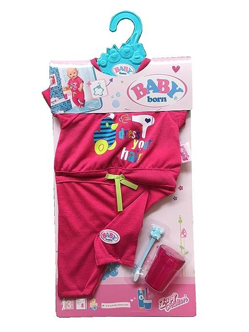 Amazon Com Zapf Creation Baby Born Doll Deluxe Fun In The