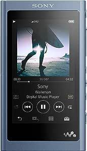 Sony NW-A55/L Walkman NW-A55 Hi-Res 16GB MP3 Player, Moonlight Blue
