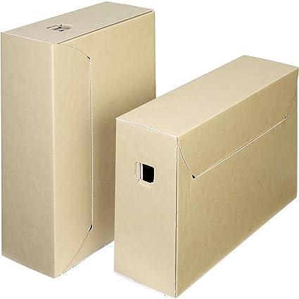 Archivo archivador de almacenamiento Caja – 30 años: Amazon.es ...
