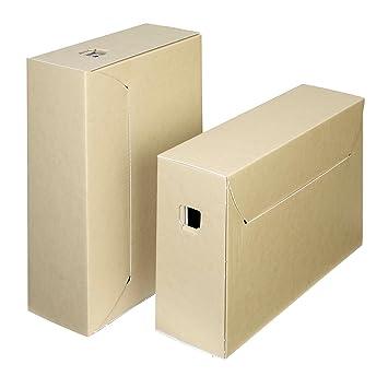 Archivo archivador de almacenamiento Caja - 30 años: Amazon.es: Oficina y papelería