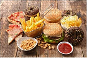 dpcm Wooden Puzzle 1000 Pieces Assorted Junk Food Junk Food Stock Pictures Royalty Free Photos Jigsaw Puzzles for Children or Adults Educational Toys Decompression Game