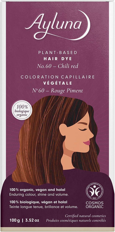 ayluna ? planta color del pelo nº 60 Color Rojo ? 100 g