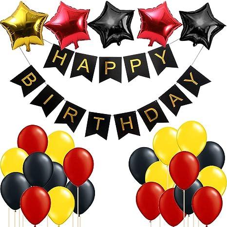 Amazon.com: Mickey Mouse, fiesta de cumpleaños suministros ...