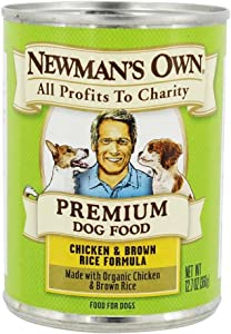 Newman's Own Organics Chicken & Rice Dog Food, Organic 12.7 oz. by Newman's Own