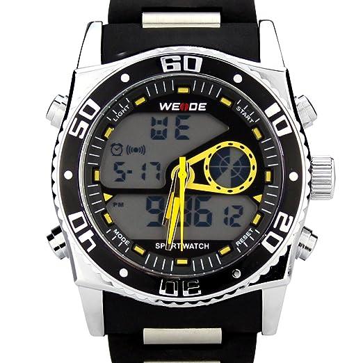 WEIDE WH-2316-Yellow - Reloj de pulsera hombre: Weide: Amazon.es: Relojes