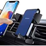 Phone Holder【With Support Foot Pad】for 99% Car Air Vent, Anwas【3-Point Stable】Car Phone Mount, Hands-Free 360° Adjustable Uni