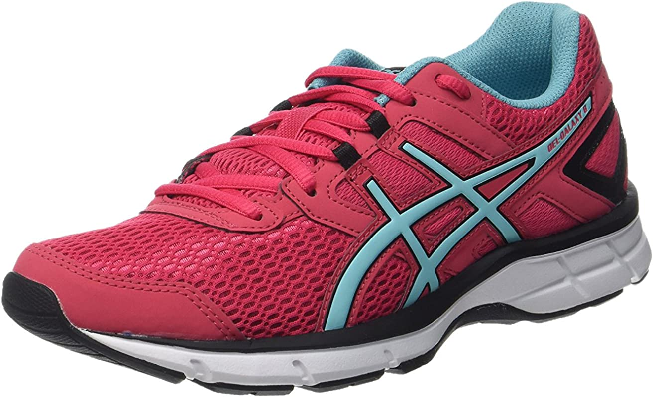 Asics Zapatillas Gel-Galaxy 8 Frambuesa/Turquesa EU 38 (US 7): Amazon.es: Zapatos y complementos
