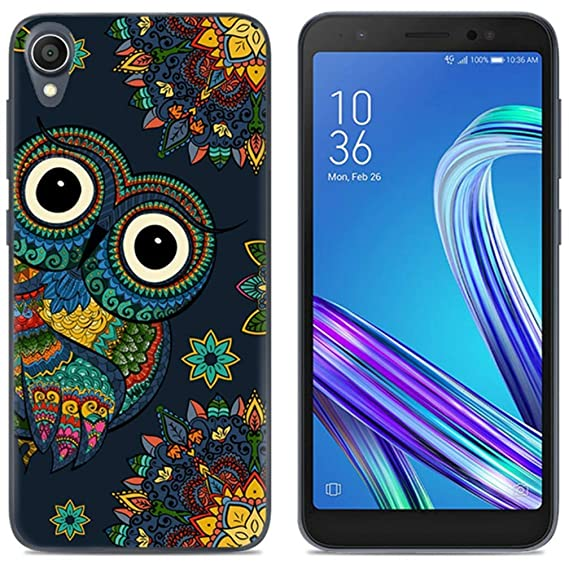 newest 4c894 7e9e1 Asus ZenFone Live L1 Case, Asus ZA550KL Case, Mellonlu Luxury Slim Silicone  Soft TPU Rubber Shockproof Back Protective Phone Case Cover for Asus ...
