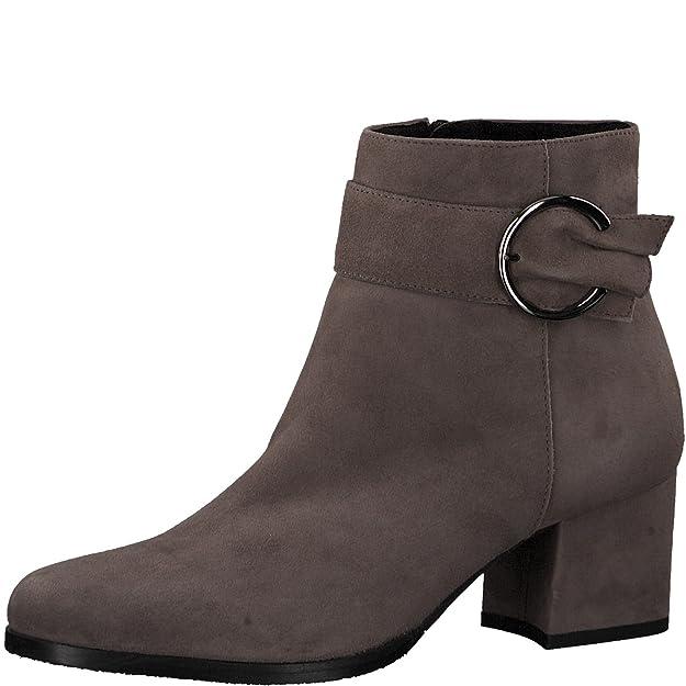 blockabsatz bootie reißverschluss Stiefelette 25379 halbstiefel Tamaris 21 frauen Damen 5 5cm boot damenstiefelette Stiefel 35ARjL4