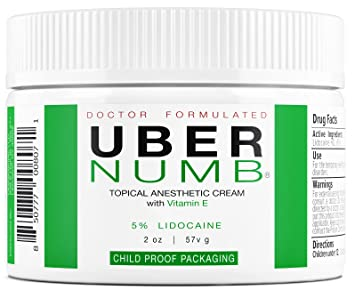 Numbing cream for sexual dysfunction