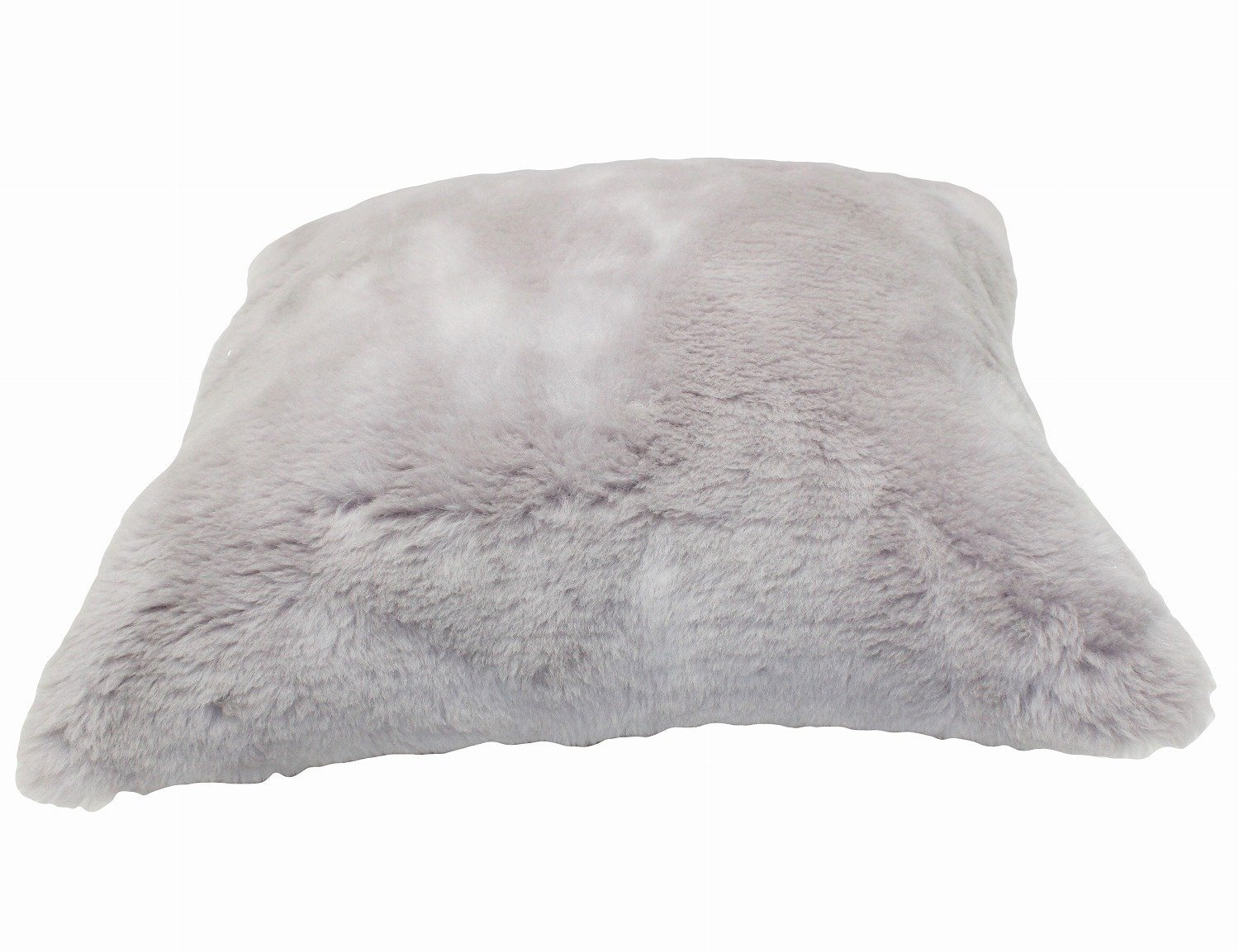 Furfurmouton Sheepskin Wool Throw Pillow Cover 20x20 Case Only Beige Camelbell WB45