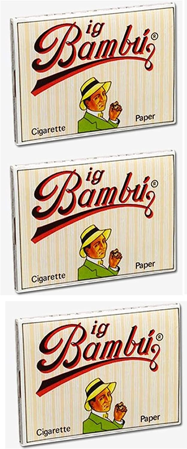 2 Packs Big Bambu Rolling Papers Natural 1 1//4  *Best Price* USA