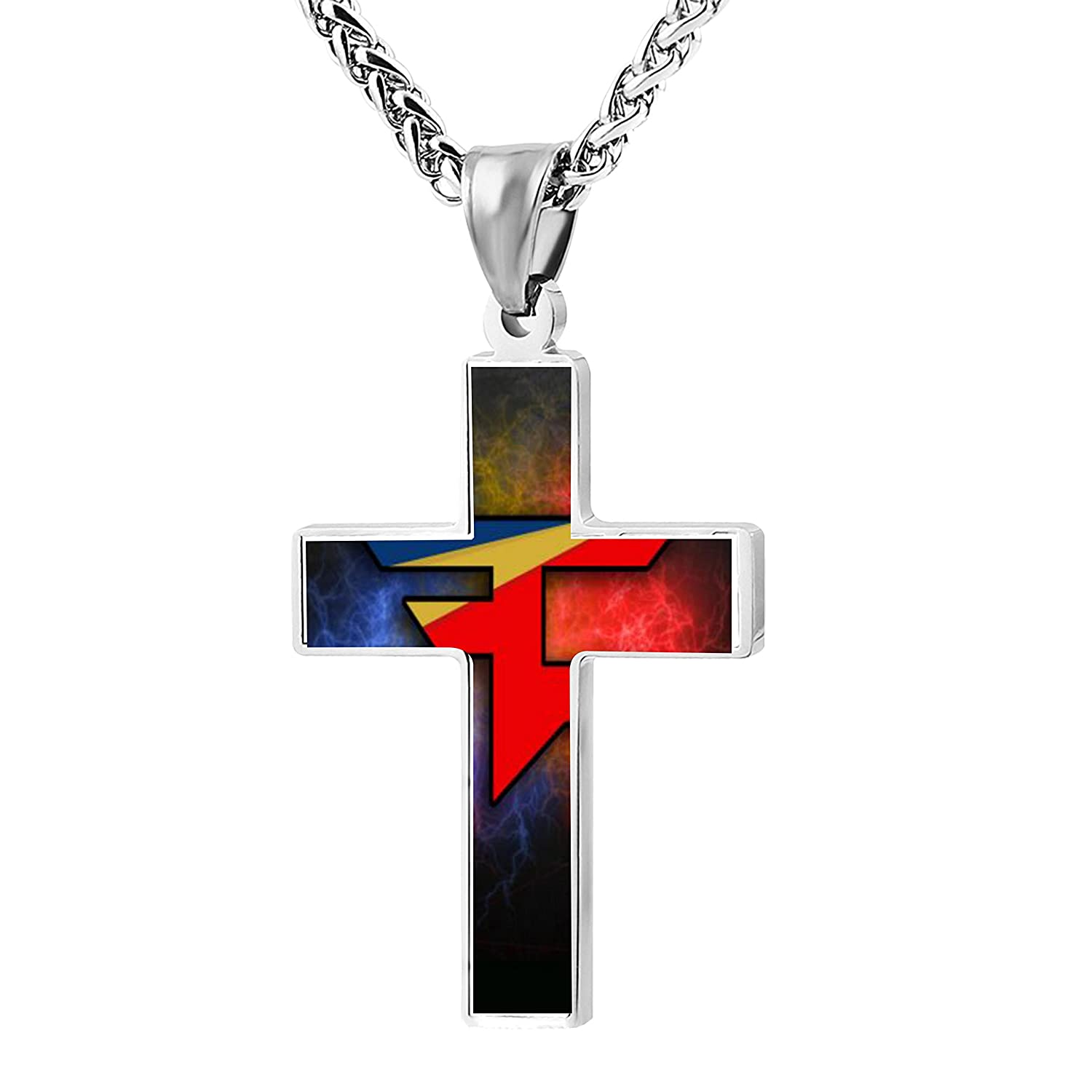 Amazon unique faze clan team logo cross necklace pendant amazon unique faze clan team logo cross necklace pendant religious jewelry jewelry buycottarizona