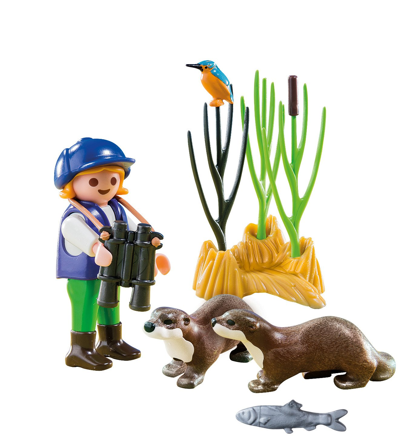 Playmobil 5376 Special Plus Young Explorer with Otters: Amazon.co.uk ...