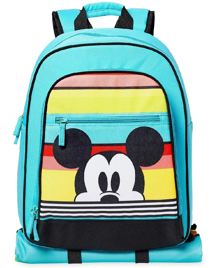 2019 Mickey Mouse Summer Fun Backpack with Picnic Mat - NEW by Backpack