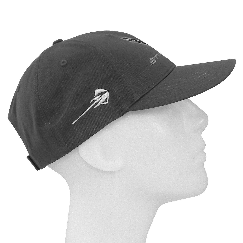 Corvette Stingray C7 Gray Baseball Cap Hat Adjustable