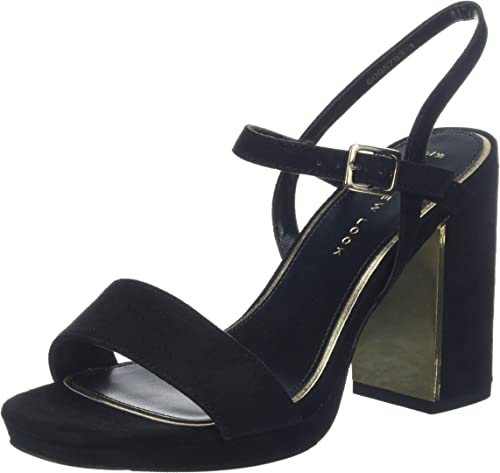 black open toe heels wide