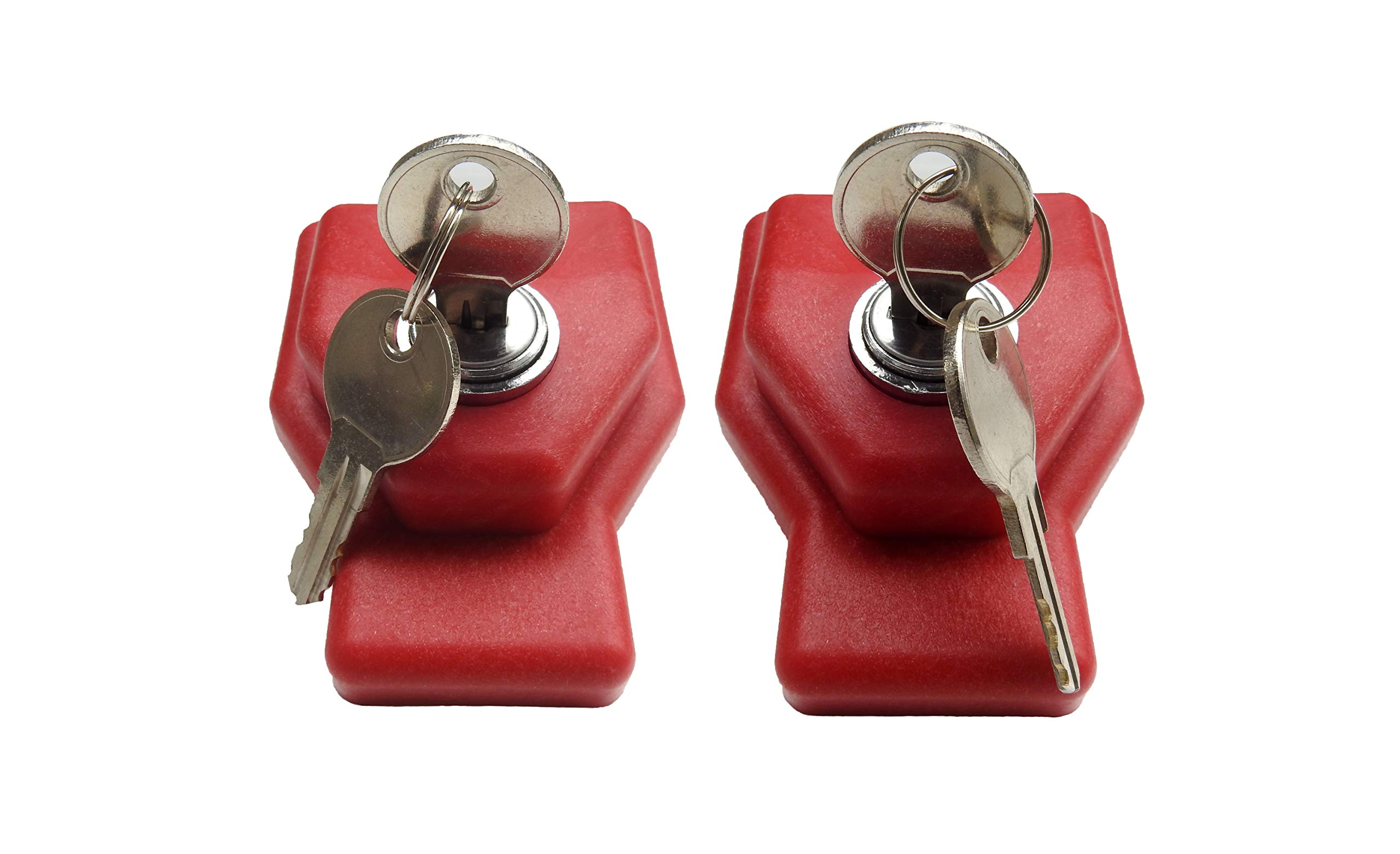 Road King Truck Parts Gladhand Safety Locks keyed Alike Pair by Road King Truck Parts