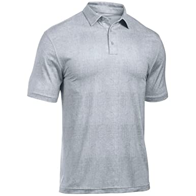 e16bcf8046 Under Armour Mens Playoff Crestable Tweed HeatGear Golf Polo Shirt:  Amazon.co.uk: Clothing