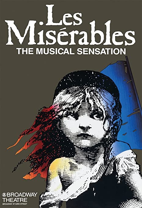 Amazon.com: Les misserables Broadway Musical carteles 27 en ...