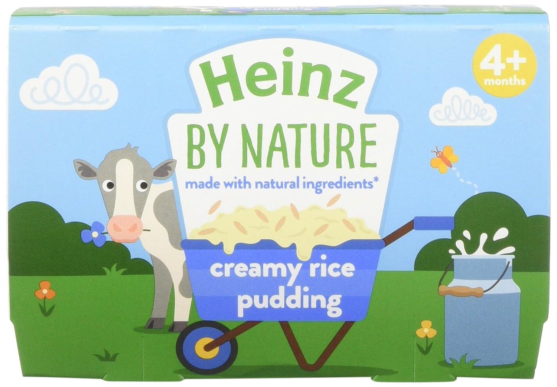 Heinz Creamy Rice Pudding Dessert Pot, 4 x 100 g (Pack of 3) The Kraft Heinz Company 76011075