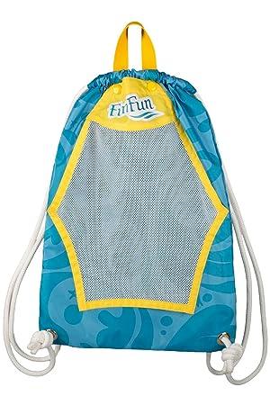 Fin Fun - Mermaidens - Mochila con cordón - para natación - Azul - Talla única: Amazon.es: Deportes y aire libre