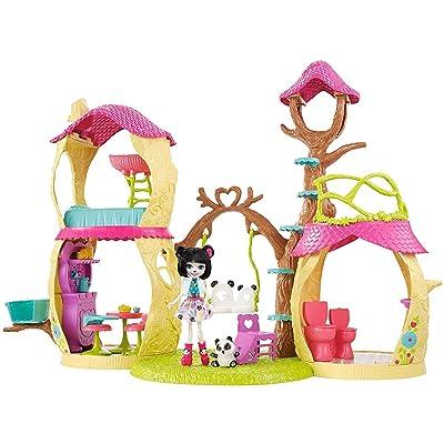 Mattel Enchantimals Playhouse Panda Set: Toys & Games