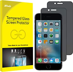 JETech Privacy Screen Protector for Apple iPhone 6 Plus and iPhone 6s Plus, 5.5-Inch, Anti-Spy Tempered Glass Film, 2-Pack
