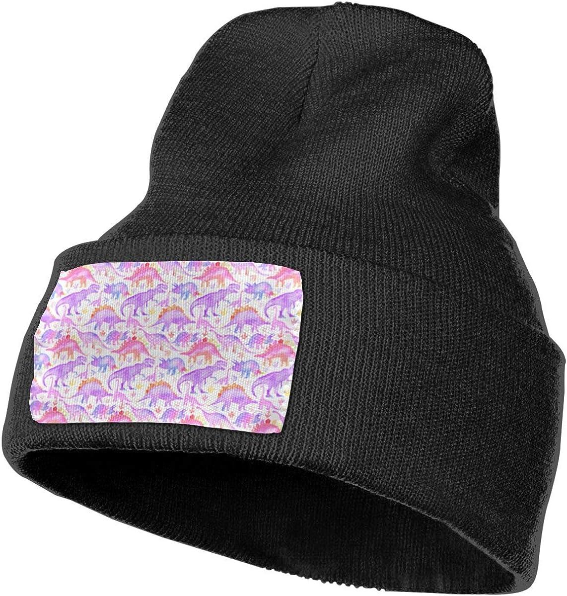 Ruin Dinosaur Fashion Knitting Hat for Men Women 100/% Acrylic Acid Mas Beanie Hat