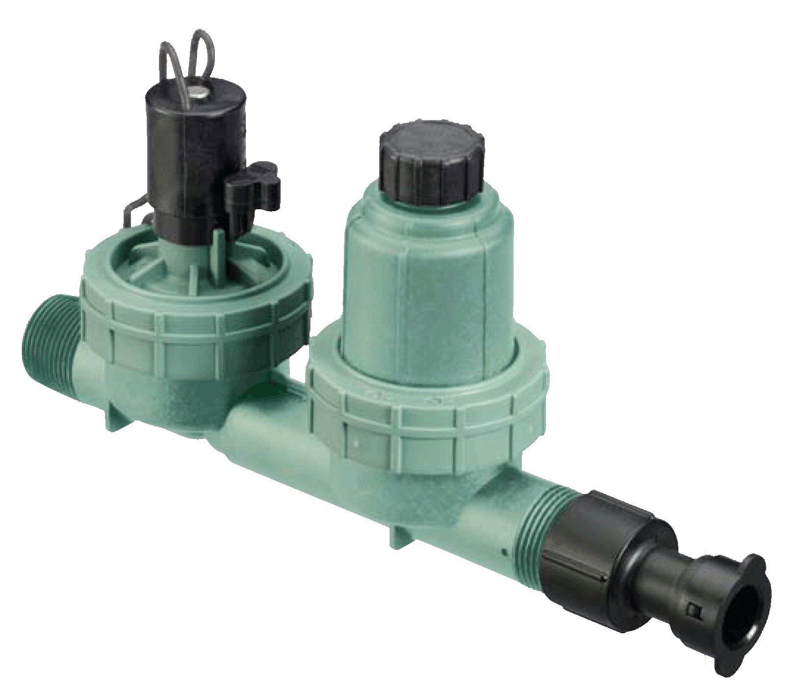 20 Pack - Orbit 4 in 1 Drip Irrigation Valve, Water Filter, Pressure Regulator & Tubing Adaptor - 67790
