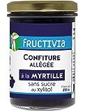 Confiture diététique à la myrtille et au xylitol