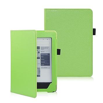 Folio Funda de cuero Modo de Suspensión Para eReader eBook KOBO ...