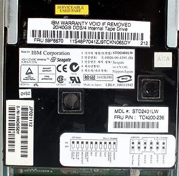 IBM STD2401LW DRIVERS UPDATE