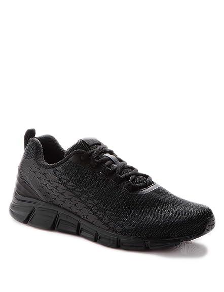 Fila Men's Memory Speedburst Running Shoes Black: Amazon.co